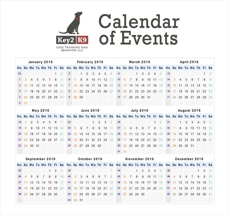 key2k9-calendar-of-events